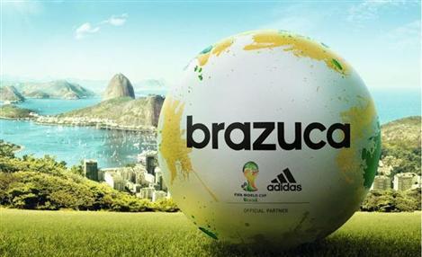 adidas Brazuca é nome da bola oficial da Copa de 2014 15f4288c0170f
