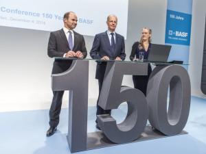 """Auftakt-Pressekonferenz """"150 Jahre BASF"""", 2014 / Opening Pre"""