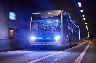 Ônibus urbano autônomo realiza 1º viagem em situação de tráfego real