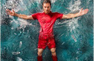 adidas produz camisas a partir de plástico retirado dos oceanos