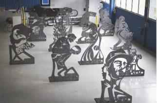 TRUMPF homenageia Ayrton Senna com esculturas de aço