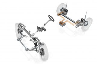 ZF apresenta seu chassi para veículos elétricos