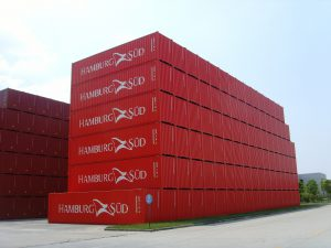 Containerneubau in China_Stackbilder