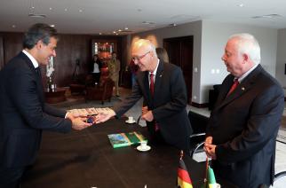 AHK Paraná recebe Embaixador da Alemanha