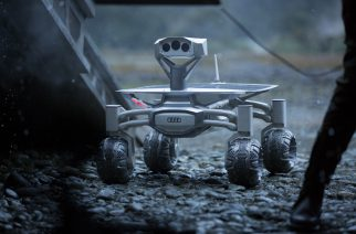 In its film debut, the Audi lunar quattro is an integral part of the Covenant mission and is deployed to help navigate and assess the challenging, unknown terrain of a remote planet.