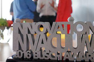 """Busch Innovation in Vacuum Award"" foi entregue à tna"