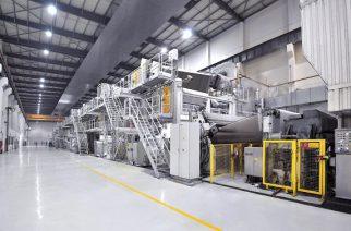 EcoCal Plus da Voith reduz custos de produção de papel cartão