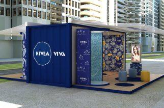 NIVEA oferece experiência para sentir a música na pele