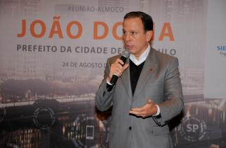 """Câmara Alemã e João Doria fortalecem """"São Paulo Cidade Inteligente"""""""