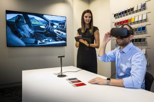 A premiere in automotive retail: the Audi VR experience is being launched as first fully functional virtual reality application for customer consultation at dealerships. First Audi dealers in Germany, the United Kingdom and Spain are now starting to deploy the virtual reality headset installation, with additional markets and locations to follow. With the VR solution, customers can get an extremely realistic experience of their individually configured car, down to the last detail. The VR experience explains Audi technologies intuitively and offers customers the opportunity to immerse themselves virtually in extraordinary moments from the world of the four rings. As part of Audi's comprehensive initiative for digital innovation at dealerships, the VR experience is completely integrated into the brand's IT systems.