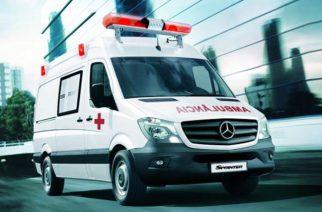 Mercedes-Benz vende 800 furgões Sprinter para o SAMU