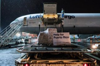 Lufthansa envia suprimentos para Porto Rico