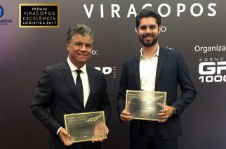 Grupo V.Santos é agraciado em Prêmio Viracopos Excelência Logística