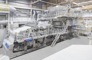 Voith Paper Brasil instala máquina em tempo recorde nos EUA