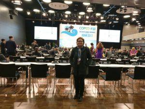Cris Baluta na COP 23