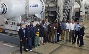 Voith treina equipes locais da África pela HydroSchool