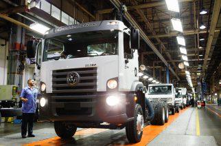 MAN Latin America supera a marca de 900 mil veículos produzidos