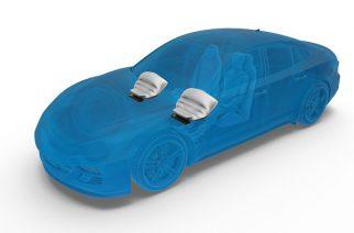 ZF desenvolve airbag de joelho mais leve