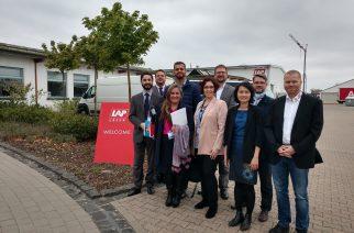 A delegação de aeronáutica encerra sua missão com potenciais parcerias