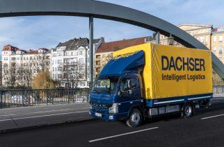 DACHSER utiliza a última geração de caminhões elétricos