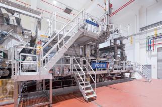 Voith colabora com a fabricação de não-tecidos ecologicamente corretos