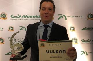 Vulkan recebe o Prêmio Visão Agro Centro-Sul/2018