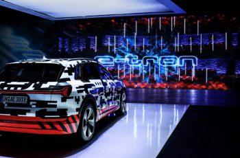 Protótipo Audi e-tron é destaque na Royal Danish Playhouse
