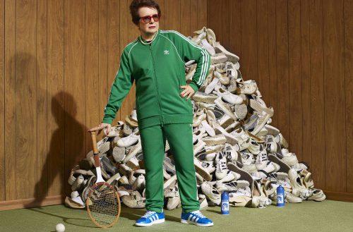 adidas faz parceria com Billie Jean King  para estimular permanência feminina no esporte
