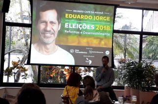 Eleições 2018: Eurocâmaras e Club Transatlântico recebem Eduardo Jorge
