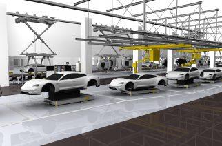 Porsche entra na era elétrica com o novo Taycan