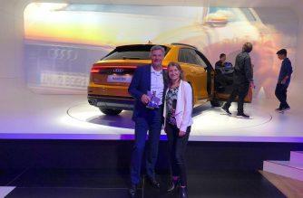 Após prêmio Motor Internacional do Ano, Audi lança o novo Q8 no Salão do Automóvel 2018