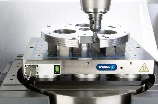 SCHUNK apresenta a mesa magnética MAGNOS, com indicador de status de fixação