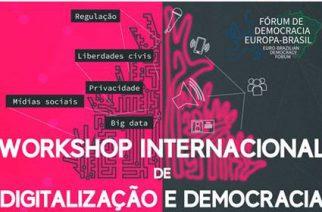 Workshop Internacional de Digitalização e Democracia conta com parceria do DWIH São Paulo