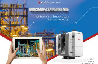 CSB Engenharia investe no Laser Scanner 3D – Nuvem de Pontos