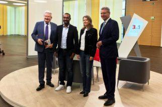 Representante do Estado da Baviera no Brasil discute a economia brasileira em talkshow alemão