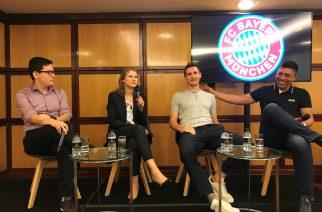 FC Bayern München no Brasil: Encontro com lendas do futebol