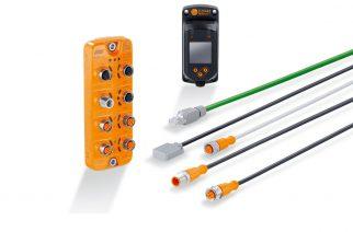 Sensor de posição magnético e monitoramento de condição em um único produto IO-Link