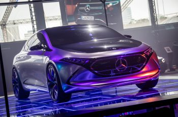 Mercedes-Benz EQ Electric Intelligence promove ações sustentáveis. Foto: Divulgação / Mercedes-Benz