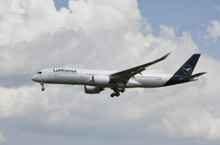 Foto: A350 da Lufthansa Cargo / Divulgação.