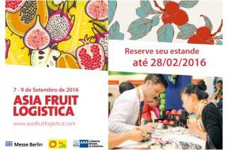 Asia Fruit Logistica convida expositores