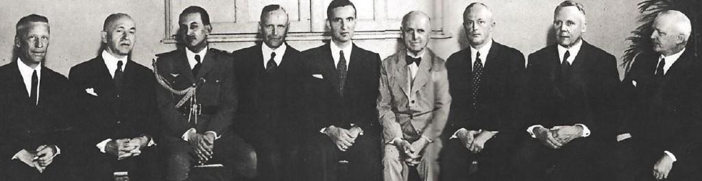 Diretoria da Câmara Alemã em 1938