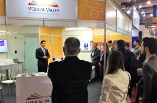 Medical Valley na feira HOSPITALAR 2016 em São Paulo