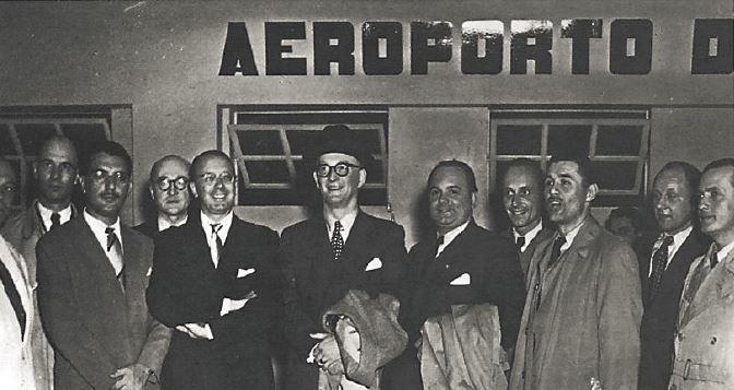 Visita da 1ª Missão Comercial Alemã