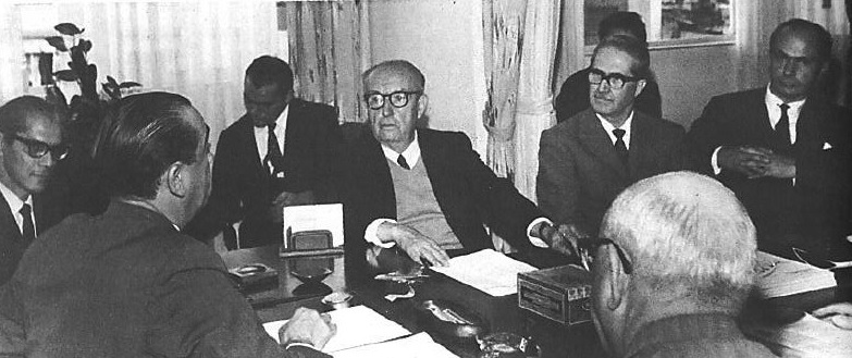 Juscelino Kubitschek visita a Câmara