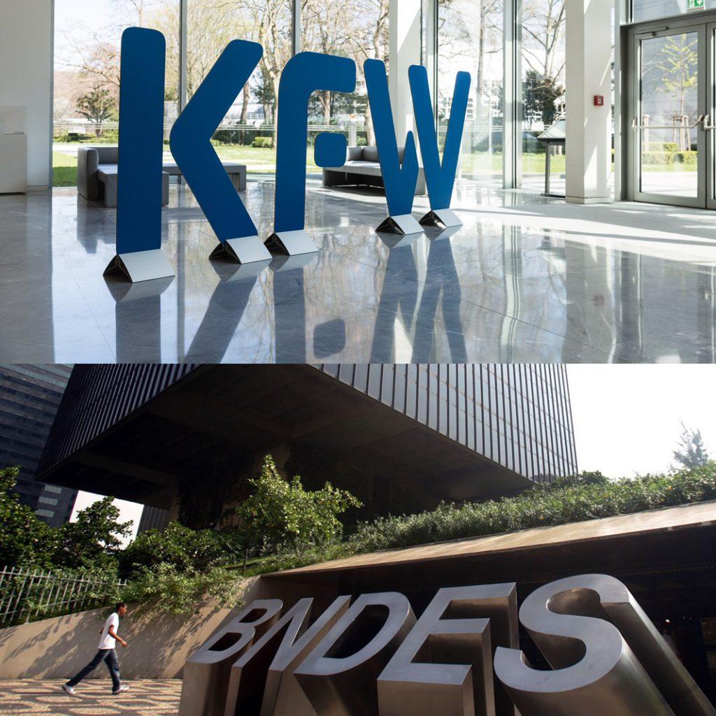KfW e BNDES iniciam parceria que dura até hoje