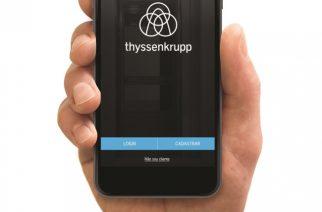 thyssenkrupp inova com aplicativo para manutenção de elevadores