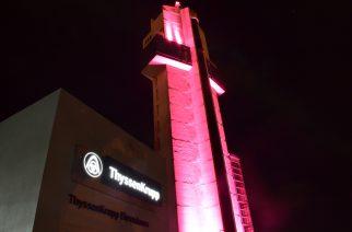 thyssenkrupp abraça campanha Outubro Rosa