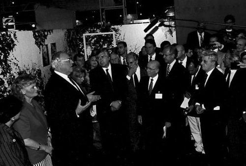 Helmut Schmidt retorna para inauguração da EcoBrasil 92