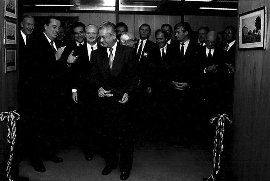 Presidente da DIHT inaugura nova sede em São Paulo
