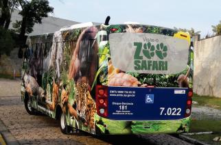 Volksbus renovam frota de acesso ao zoológico de São Paulo